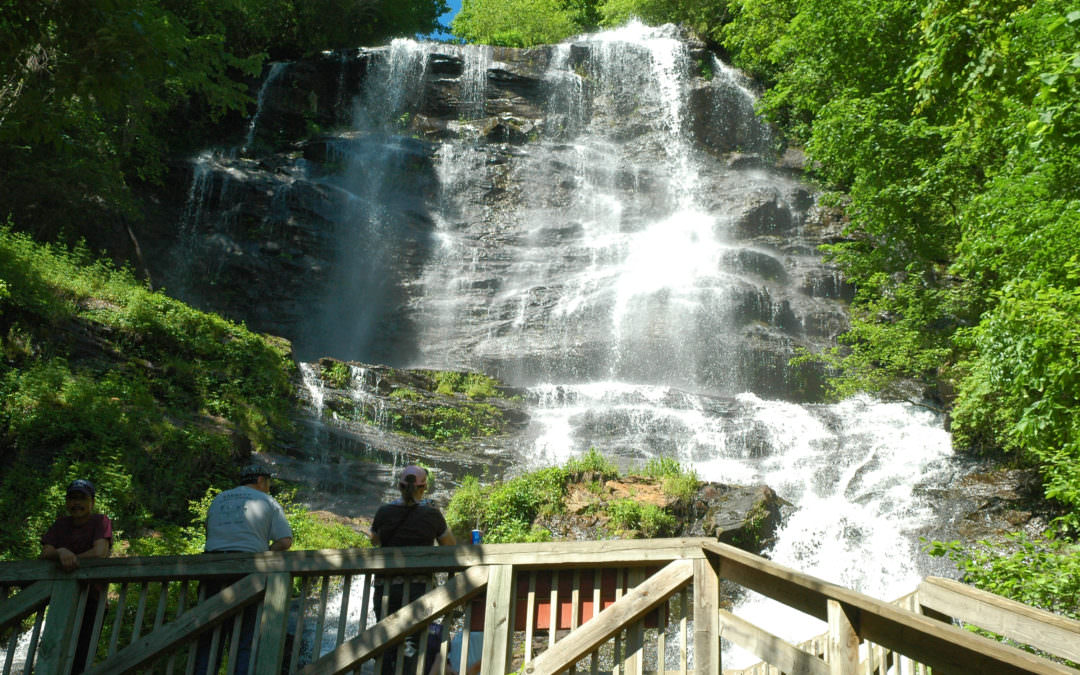 Amicalola Falls – Base Of The Appalachian Trail